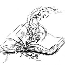 sketch of book