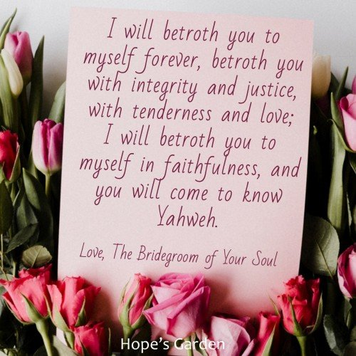 I Will Betroth You