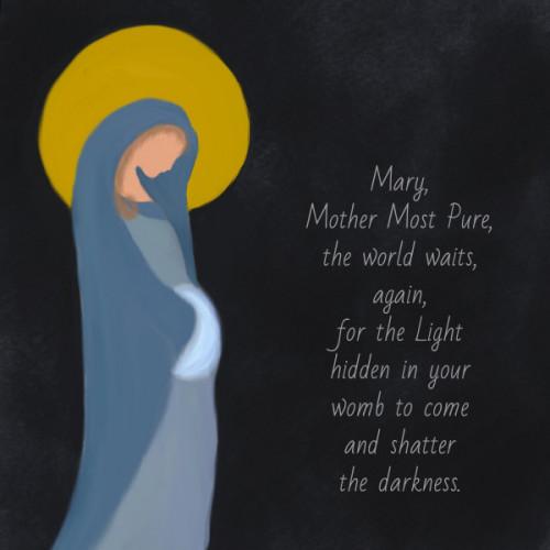 Mary Bearer of the Light